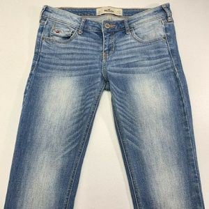 Hollister Boot Cut Jeans Light Wash Low Rise